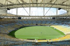 Sao Paulo's Itaquerão stadium Photo from en.wikipedia.org