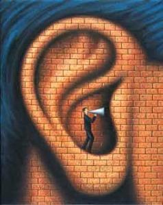 God is deaf