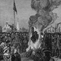 Burning a Slave, 1741 From Skepticism.org, Original citation: unknown.