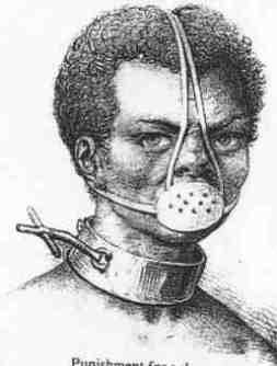 Slave with Iron Bit. Citation unknown
